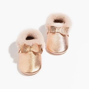 NEW!⭐️Host Pick⭐️Freshly Picked Shearling Bow Mocc